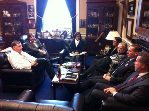 NAHU Capitol Conference Meeting with Oklahoma Congressman Tom Cole