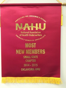 NAHU Most New members Small Chapter 2014-2015